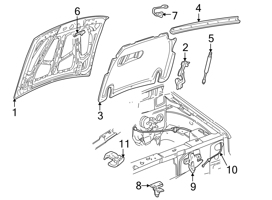 Wiring Diagram: 30 1998 Ford Explorer Hood Latch Diagram