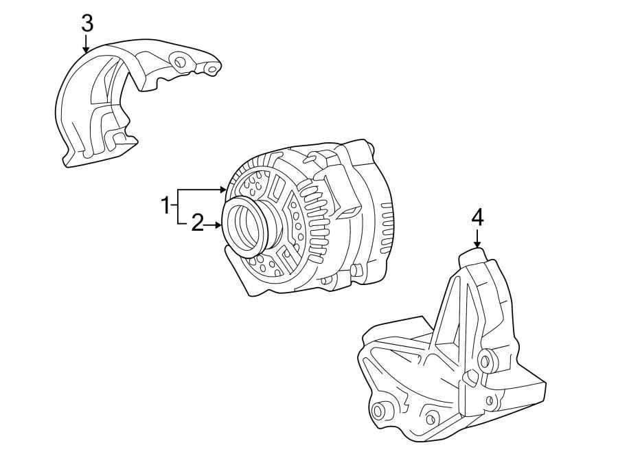 Ford Explorer Sport Alternator Bracket. 4.0 LITER. 4.0