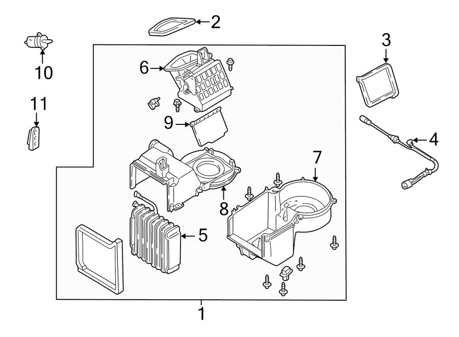 Ford Escape Hvac vacuum harness. Vacuum. Hose. Harness