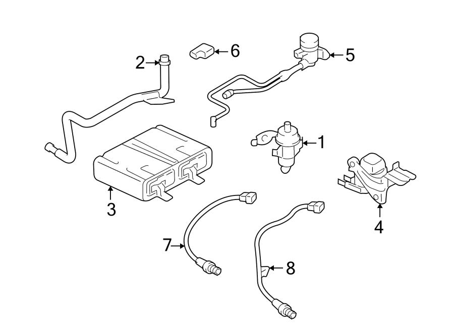 Ford Escape Oxygen Sensor (Front, Rear, Upper, Lower
