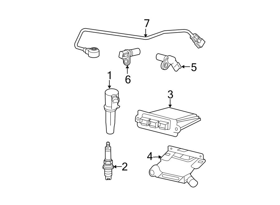Ford Escape Engine Crankshaft Position Sensor. Hundred