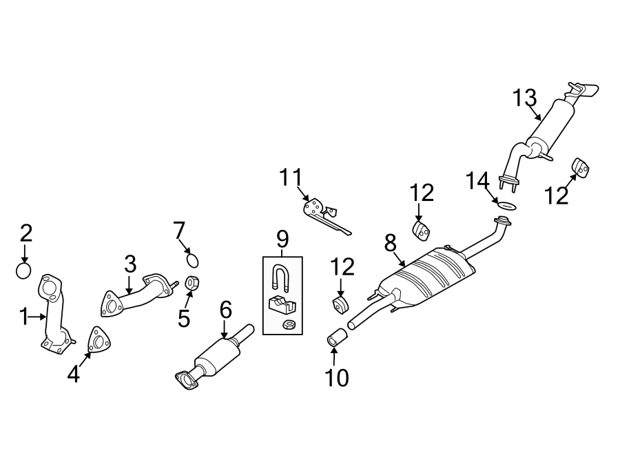 Wiring Diagram: 31 2002 Ford Escape Exhaust System Diagram