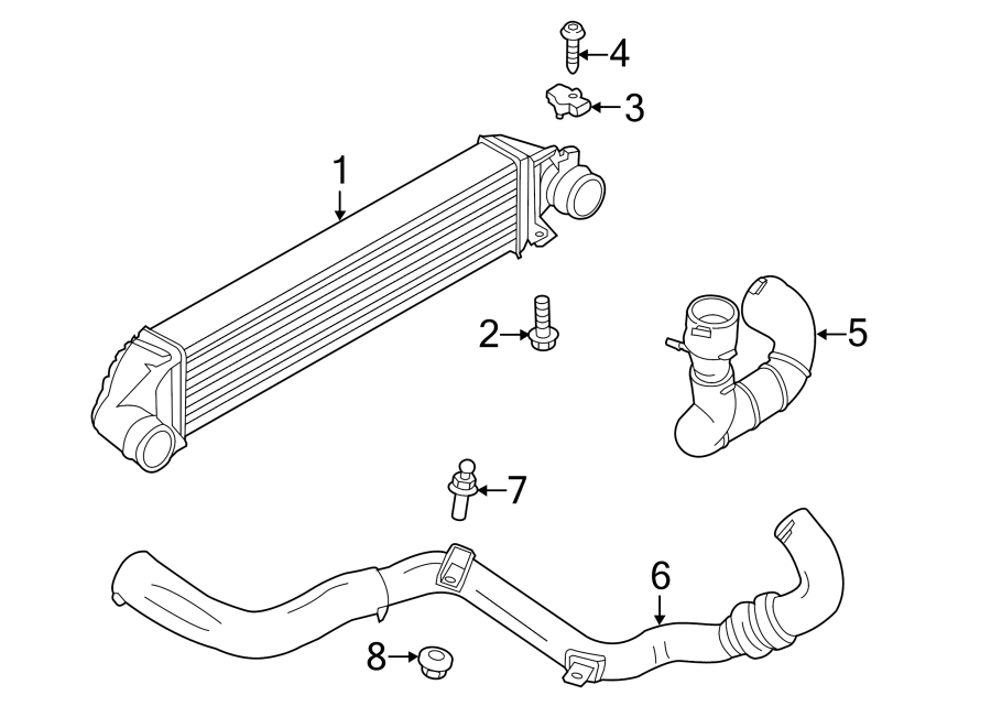 Ford Escape Intercooler. Intercooler. LITER, Acceleration