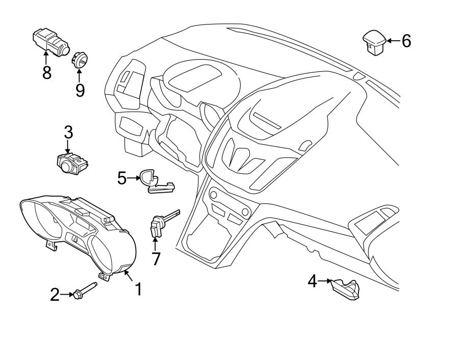 Ford Escape Headlight Switch. Lamps, Auto, Fog