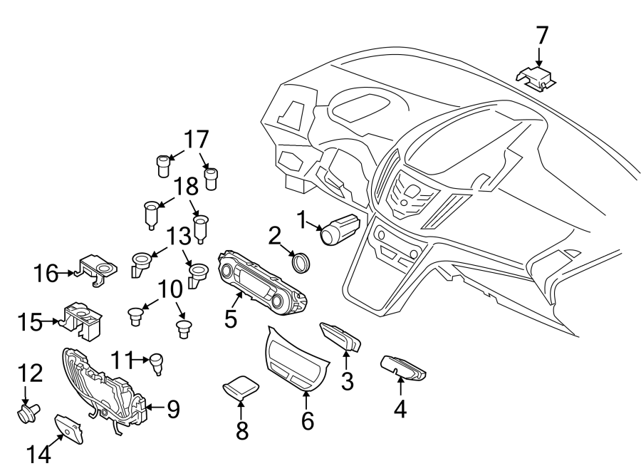 Ford Escape Outlet. Power. Cover. Cap. 12 Volt Accessory