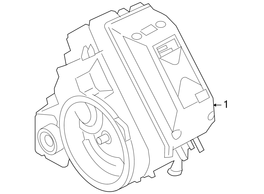 Ford Escape Automatic. Transmission Assembly. Transaxle