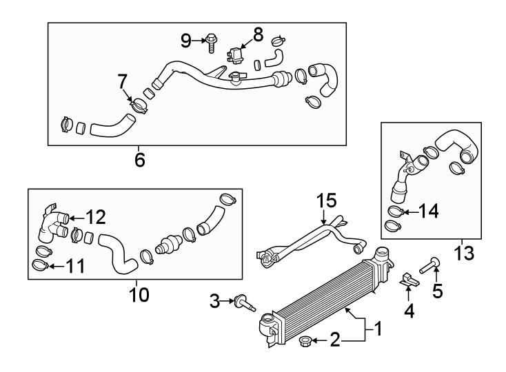 Ford Edge Intercooler. LITER, Engine, Acceleration