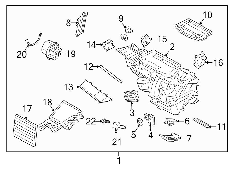 2015 Ford Escape Blower motor resistor. Controller