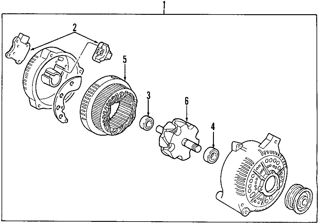 1999 Ford E-350 Econoline Club Wagon Chateau Standard