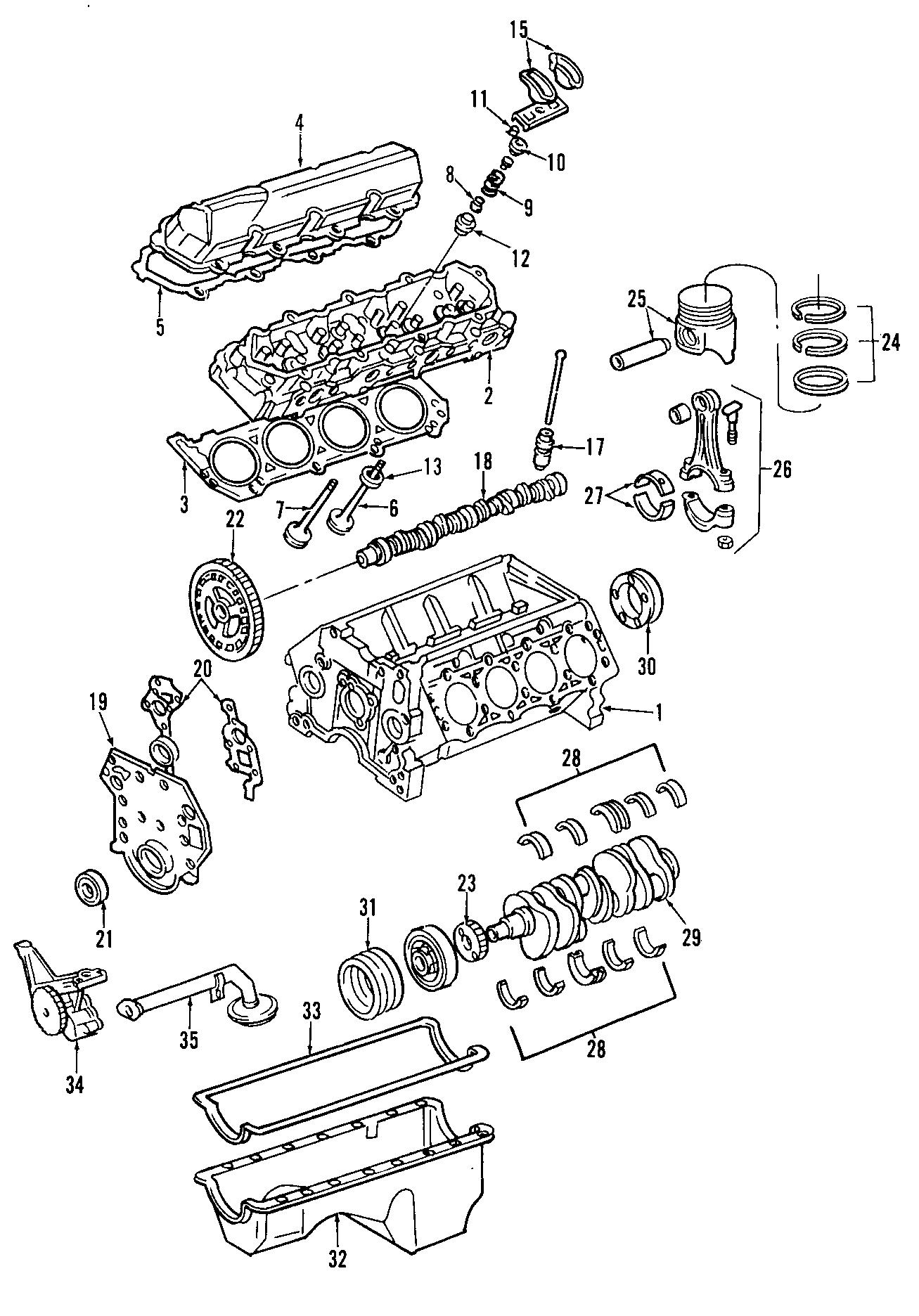 Ford Excursion Engine Timing Cover Gasket. DIESEL, LITER