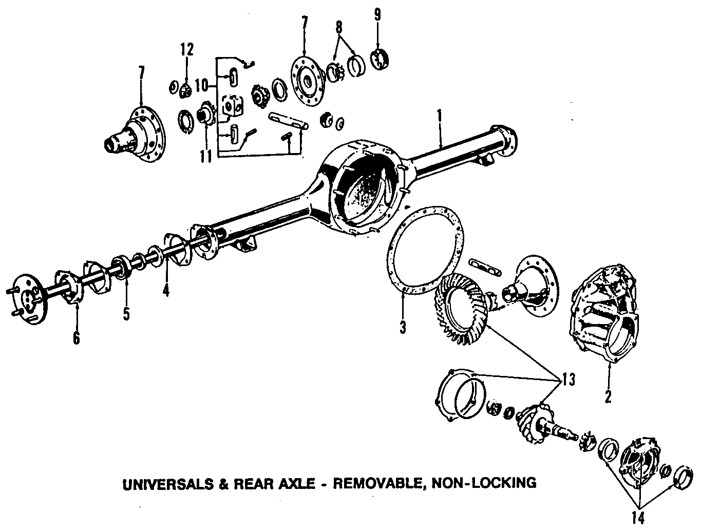 Ford Crown Victoria Rear Axle Parts Diagram. Ford. Auto