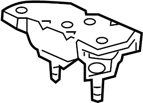 Ford Crown Victoria Automatic Transmission Mount (Rear