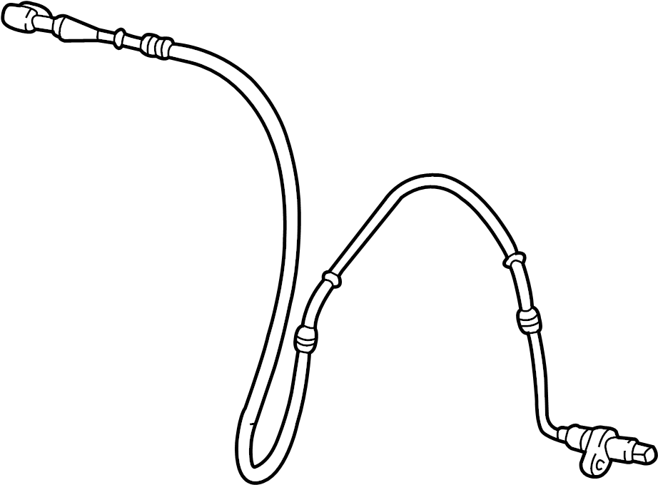 Ford Crown Victoria Abs wheel speed sensor wiring harness