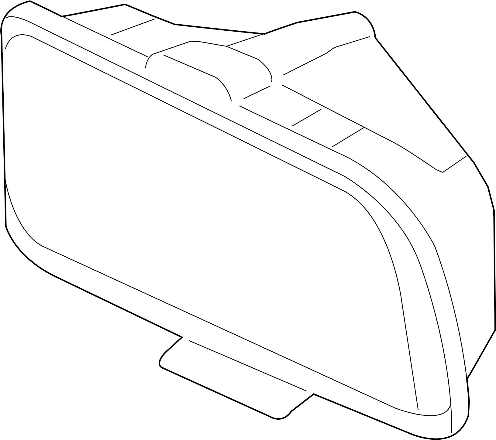Ford Mustang Headlight Mustang Right W Halogen