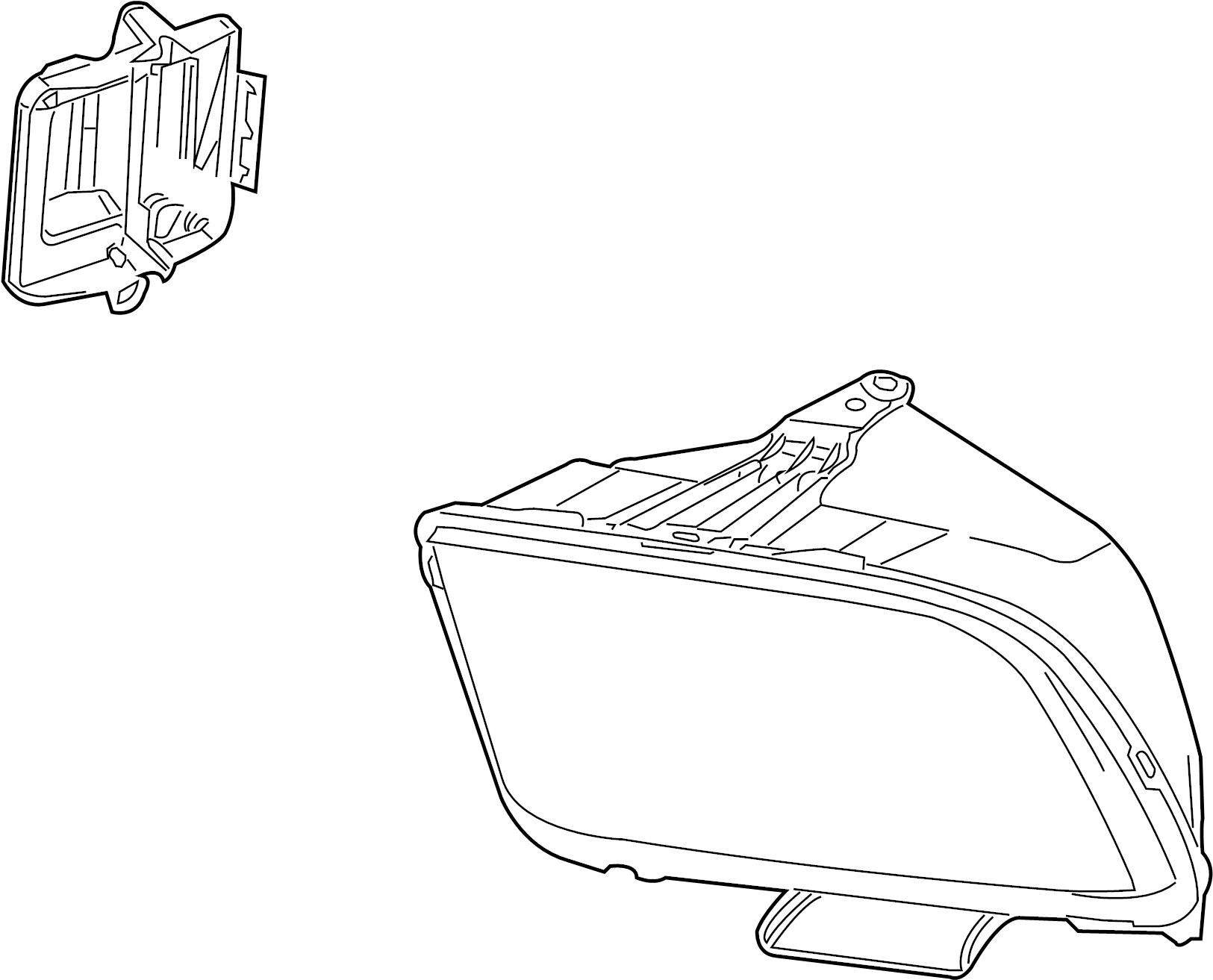 Mustang Headlight