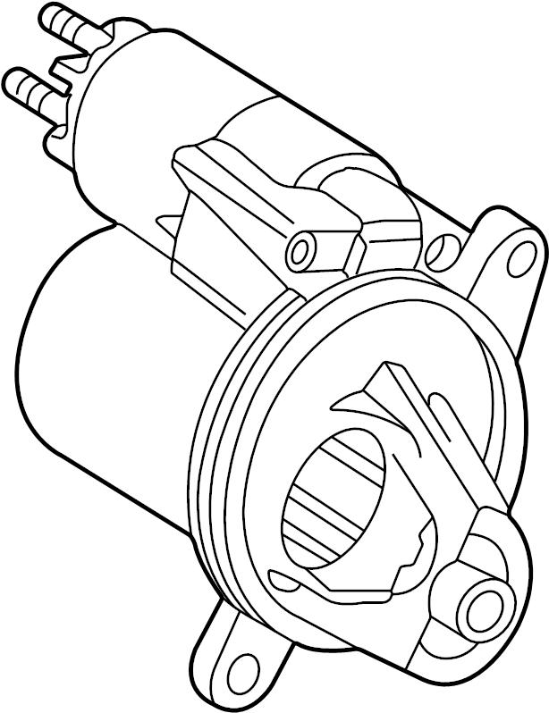 Ford Explorer Sport Trac Starter Motor. Trans, Manual