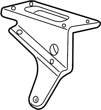 Ford Mustang Ignition Coil Mounting Bracket. 4.0 LITER