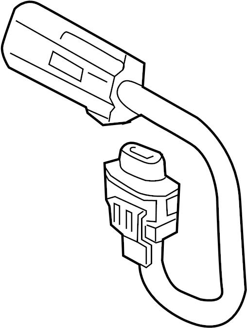 Ford Ranger Fog Light Socket. BASE, W/O APPEARANCE PKG