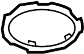 Ford Escape Fuel Tank Lock Ring. 2.0 liter. 2.3 liter