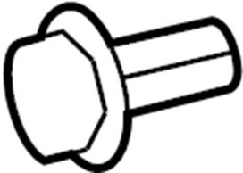 Ford Edge Cyl head temp sensor. Sensor. Sensor asy