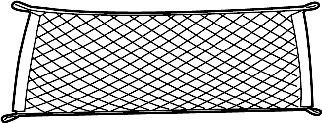 2016 Ford Mustang Cargo Net. Rear, CONVERTIBLE, BODY