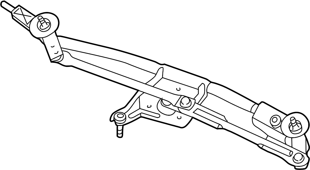 2007 Ford Five Hundred Windshield Wiper Linkage