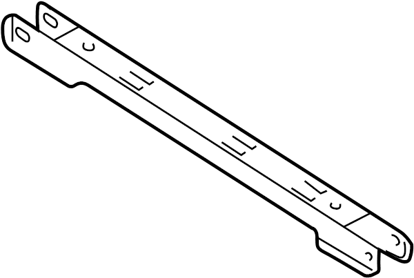 2005 Ford Freestyle Link. Track bar. Trailing arm. Rear