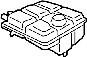2016 Ford Transit Connect Tank. Reservoir. Coolant