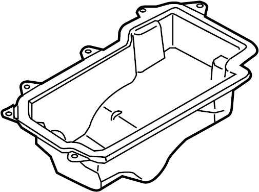 2016 Ford C-Max Drive Motor Battery Pack Tray. Tray
