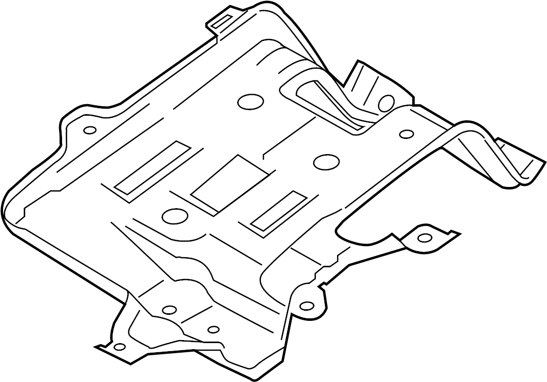 Ford C-Max Drive Motor Inverter Bracket. BATTERY CHARGING