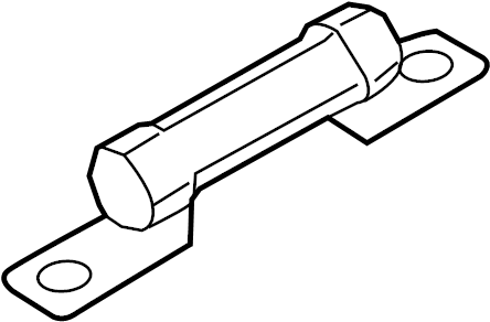 Ford C-Max Fuse. ENGINE COMPARTMENT, mega type 1, 30 amp