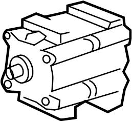 2001 Ford Escape Air conditioning (a/c) compressor