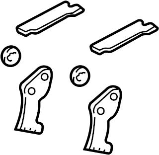 Ford Focus Kit. Brake. Lever. Repair. Adjuster. Adjust