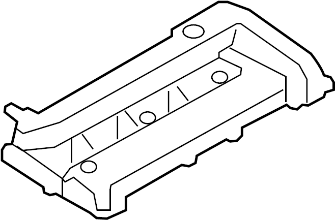 Ford Focus Engine Valve Cover. LITER, HEAD, TIMING