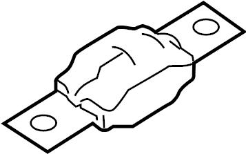Ford Focus Fuse. Circuit. Breaker. Amp, Starter, Mega