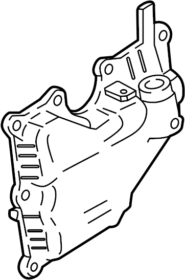 Ford Focus Engine Crankcase Vent Valve. SEPARATOR ASSEMBLY