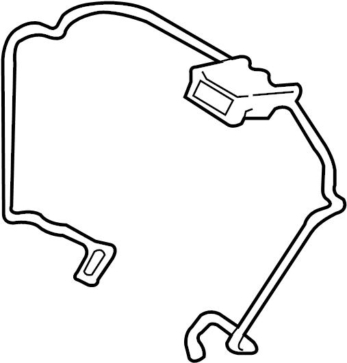Ford Escape Steering Wheel Wiring Harness. Control, WSync