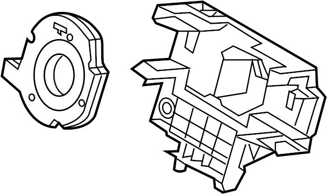 Ford Escape Angle sensor. HOUSING. STEERING SENSOR
