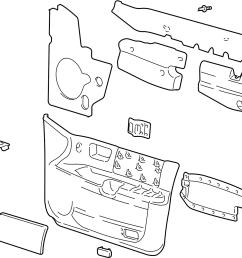 ford taurus interior door parts diagram wiring diagrams u2022 1999 ford taurus engine diagram 2000 [ 1338 x 1266 Pixel ]