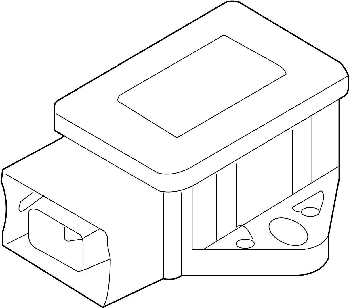 Ford Taurus Suspension Yaw Sensor Sensor Yaw Rate