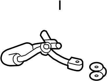 Ford Explorer Turbocharger Oil Line (Upper, Lower). Right