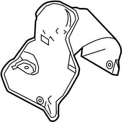 2017 Ford Taurus Steering Gear Dust Shield. Liter, LINKAGE