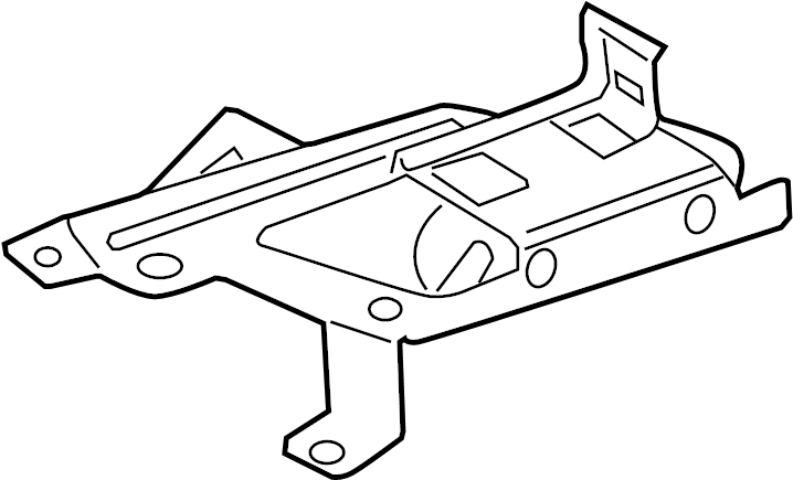 Ford Fusion Engine Control Module Bracket. LITER, PCM