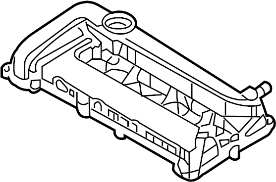 Ford Fusion Engine Valve Cover. 2.3 LITER. Fusion, Milan