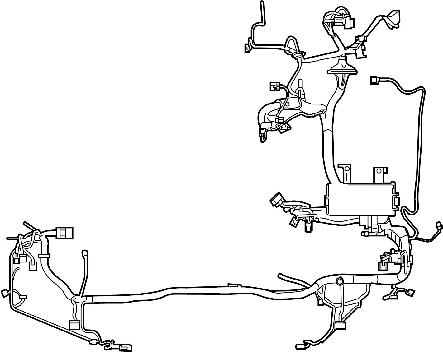Ford Fusion Engine Wiring Harness Wire Harness Wiring