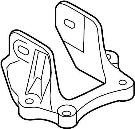 Ford Fusion Automatic Transmission Mount Bracket (Upper