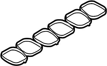 Ford Edge Gasket. Manifold. Upper, LITER, ENGINE