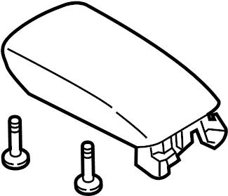 2016 Ford Fusion Console Lid. CONSOLE & TRIM, 2013-2016