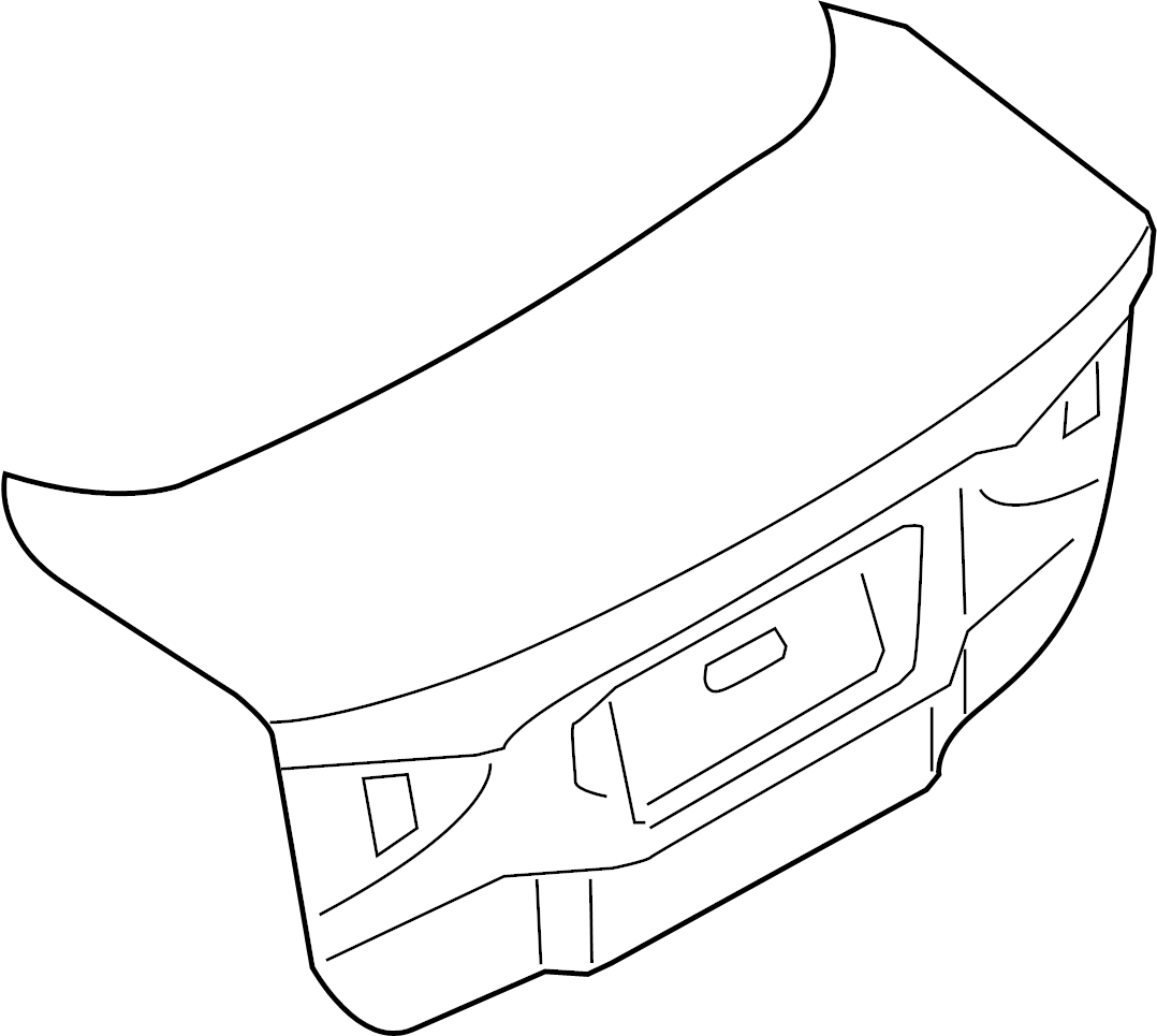 Ford Fusion Trunk Lid Assembly