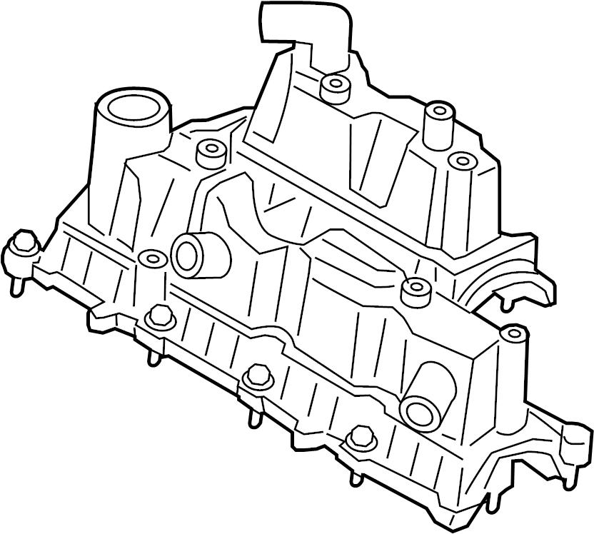 Ford Fusion Engine Valve Cover. 1.5 LITER. Escape. Fusion